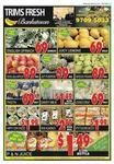 2L Milk and 2L P&N Juices $1.49, 69c Kilo Lemons, 39c Kilo Pumpkins @ Centro Bankstown, Sydney!