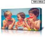 Personalised 100 x 50cm Rectangle Canvas $49.99 + Shipping (Other Sizes Also Available) @ Catch