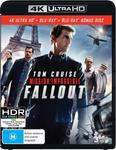 Mission Impossible Fallout 4K $12.50 + Delivery (Free with Prime/ $49 Spend)