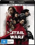Star Wars: The Last Jedi (4K Ultra HD + Blu-Ray + Bonus) $10 + Delivery (Free with Prime/ $49 Spend) @ Amazon AU