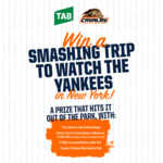 Win a New York Yankees Experience for 2 Worth $5,170 from Tabcorp Holdings Ltd [ACT/NSW/VIC]