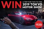 Win a Trip to the 2019 Tokyo Motor Show for 2 Worth $19,050 from Bauer Media