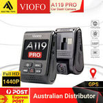 Viofo A129 Dual Dash Cam $188 / A119 Pro $95 / A119S $94 / A119 V2 w/SD Card $96 @ a1_electrictoys eBay