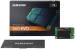 Samsung 860 EVO 1TB mSATA V-NAND SSD - MZ-M6E1T0BW $198 Delivered @ Centrecom