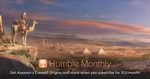 Subscribe by 3 May and Get Assassin's Creed Origins - US $12 Per Month (~A $15) @ Humble Monthly