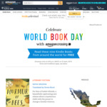 9 Free Kindle eBooks - World Book Day @ Amazon AU