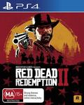 [PS4/XB1] Red Dead Redemption 2 $55 Delivered @ Amazon AU