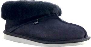 7d5758ac910 Men's/Women's Opal Prince Sheepskin Slippers - Black & Chestnut ...