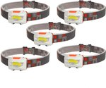 EverBrite 5-Pack 150 Lumens Adjustable Headlamp $19.99 + Delivery (Free with Prime/ $49 Spend) @ Greatstar Tools Amazon AU