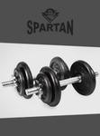 Spartan - 20kg Spinlock Dumbbell Set $39.99 + $5.99 Postage