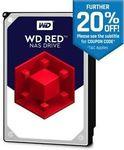 WD Red 10TB NAS $436.80 Delivered @ Futu Online eBay