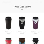 Viral Travel Mug Neolid 350ml (100% Leakproof, Lidless) $27.96 (Was $34.95) + Delivery (Free over $75) @ Makia's World