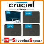 Crucial BX500 SSD 480GB $58.94 (Sold Out), 960GB $119.98 + Delivery (Free with eBay Plus) @ Shopping Square eBay