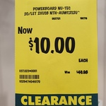 [VIC] Nu-Tec Wireless Charging Powerboard (2 Outlets + 2 USB Ports) $10 (Was $46.98) @ Bunnings Dandenong
