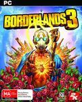 [PC] (Pre Order) Borderlands 3 $48 + Delivery (Free with Prime / $49 Spend) @ Amazon AU