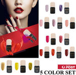 Carlo Rista Gel Nail Polish 5 Colours Set $8 off over $40 Order & Free Shipping @ Carlo Rista eBay