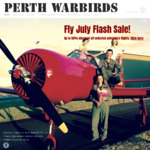 [WA] up to 50% off Adventure Flights (e.g. 15 Min Aerobatic Flight + GoPro upgrade normally $397 on sale $198) @ Perth Warbirds