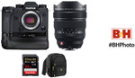 Fujifilm X-H1, 8-16mm Lens, Battery Grip, Accessories Kit US$2298 (~AU$3390) + US$322.47 (~AU$476) Delivery & Tax @ B&H Photo