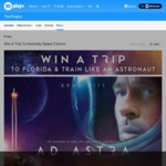 Win a Trip to the Kennedy Space Centre in Florida for 2 Worth $12,095 from Network Ten