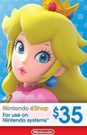Nintendo $35 USD eShop Digital Cards US $29.99 (~AUD $43.76) @ LVLGO (US Nintendo Account Required)