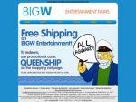 Free Shipping on Big W entertainment