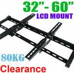 "Premium Quality Plasma/LCD TV Wall Mount 32-60"" Adjustable Tilt Bracket $22.58 Delivered @ Ecorridor eBay"