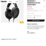 Massdrop x Sennheiser HD 6XX Open Back Headphones $195 USD (~ $300 AUD) Delivered @ Drop (with Reddit Link)