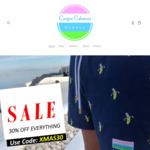 Men's Swim Shorts $28-$35 + Free Delivery @ Coogee Cabanaz