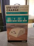 Crest USB Fast Charge/Wireless Charger $10 @ Bunnings