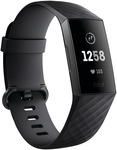Fitbit Charge 3 $99 (Was $179) (Free Delivery or C&C - Colours: Graphite/Rose Gold) @ Myer