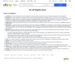 3% off $30 Minimum Spend on Eligible Items @ eBay