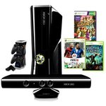 Xbox 360 250GB Console with Kinect + Xbox360 Brutal Legend + FIFA 10 $499 + Dual Controller