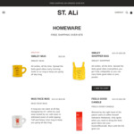 Up to 40% off Homewares @ ST.ALi