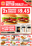 Hungry Jack's Vouchers (Valid until 22nd June 2020)