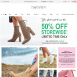 Further 50% off Sitewide + Free Shipping @ Therapy Shoes
