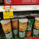 [NSW] Coles Stacked Chips, Sour Cream - $0.68 (Was $1.80) @ Coles (Warners Bay)