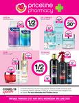 1/2 Price Olay, Dove, Tresemme, OGX 40% Off A'kin, Garnier, Swisse, Sukin Skincare @ Priceline