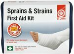 St John Sprains & Strains First Aid Kit (Inc Bandages, Towels, Gloves, Mini Cold Packs) $5 Shipped (OOS) / C&C Only @ rebel