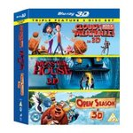 Amazon.co.uk Animation Triple Pack (Blu-Ray 3D) $30.06 Delivered