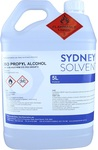 Isopropyl Alcohol 100% 5L Pure PA Rubbing Alcohol, Hand & Surface Cleaner $55 + $22 Postage @ Sydney Solvents