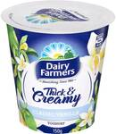 ½ Price Dairy Farmers Yoghurt 150g $1, Suimin Noodle Cup $0.75, MasterFoods Simmer Sauce 485-520g $1.85, Dove Range @ Woolworths