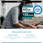 Optus Sim Only $35pm Inc 40GB Data + Bonus 10,000 flybuys Points