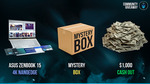 Win an Asus Zenbook 15, or $1000, or a Mystery Box from Grid Gaming