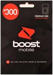 Boost Mobile $300 Prepaid 12 Month Plan 1 for $259, 2 for $255each, 3 for $250 Each, 4 for $245 Each, 5 for $240 Each @ CELLMATE