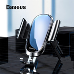 Baseus Round Air Vent Mount Gravity Car Phone Holder A$12.95 Delivered @ eSkybird