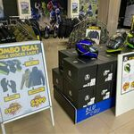 [NSW] AGV K1 Qualify Helmet $199 Helmet/Jacket/Gloves Combo $399 @ Motocity (Albion Park)