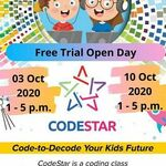 [WA] Free Trial 3/10 & 10/10 Open Day @ CodeStar Australia (Canning Vale)