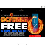 Free Cooling Arousal Oil (Value $29.95) with Any Purchase @ Wildfire Oil