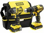 STANLEY FATMAX 18V Cordless Hammer Drill + Impact Driver Combo Kit $189 Shipped @ Amazon