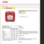 Sanpellegrino Aranciata Rossa Drink 330ml Cans 4pk $3 (RRP $6) @ Coles